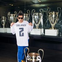 Derek Zoolander visita el estadio del Real Madrid