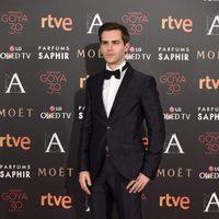 Marc Clotet en la alfombra roja de los Premios Goya 2016