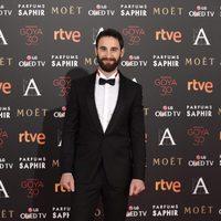 Dani Rovira en la alfombra roja de los Premios Goya 2016