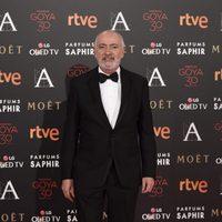 Juan Luis Iborra en la alfombra roja de los Premios Goya 2016