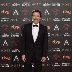 Gines García Millán en la alfombra roja de los Premios Goya