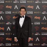 Pedro Casablanc en la alfombra roja de los Premios Goya 2016