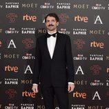 Julián Villagrán en la alfombra roja de los Premios Goya 2016