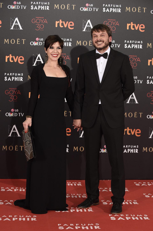 Salvador Reina en la alfombra de los Premios Goya 2016