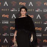 Elvira Mínguez en la alfombra de los Premios Goya 2016