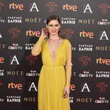 Manuela Vellés en la alfombra roja de los Premios Goya 2016