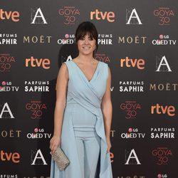 Vanesa Martín en la alfombra roja de los Premios Goya 2016