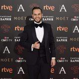 Jorge Blass en la alfombra roja de los Premios Goya 2016