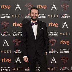 Julián López en la alfombra roja de los Premios Goya 2016