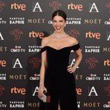 Juana Acosta en la alfombra roja de los Premios Goya 2016