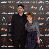 Cesc Gay en la alfombra roja de los Premios Goya 2016