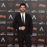 Alfonso Bassave en la alfombra roja de los Premios Goya 2016