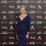 Anne Igartiburu en la alfombra roja de los Premios Goya 2016