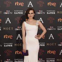 Aura Garrido en la alfombra roja de los Premios Goya 2016