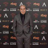 Eusebio Poncela en la alfombra roja de los Premios Goya 2016