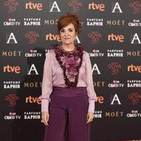Elvira Lindo en la alfombra de los Premios Goya 2016