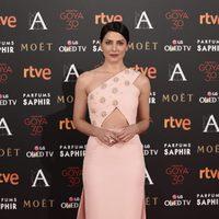 Bárbara Lennie en la alfombra de los Premios Goya 2016