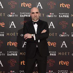 Luis Tosar en la alfombra roja de los Premios Goya 2016