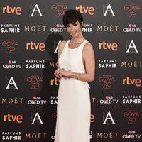 Paz Vega en la alfombra roja de los Premios Goya 2016