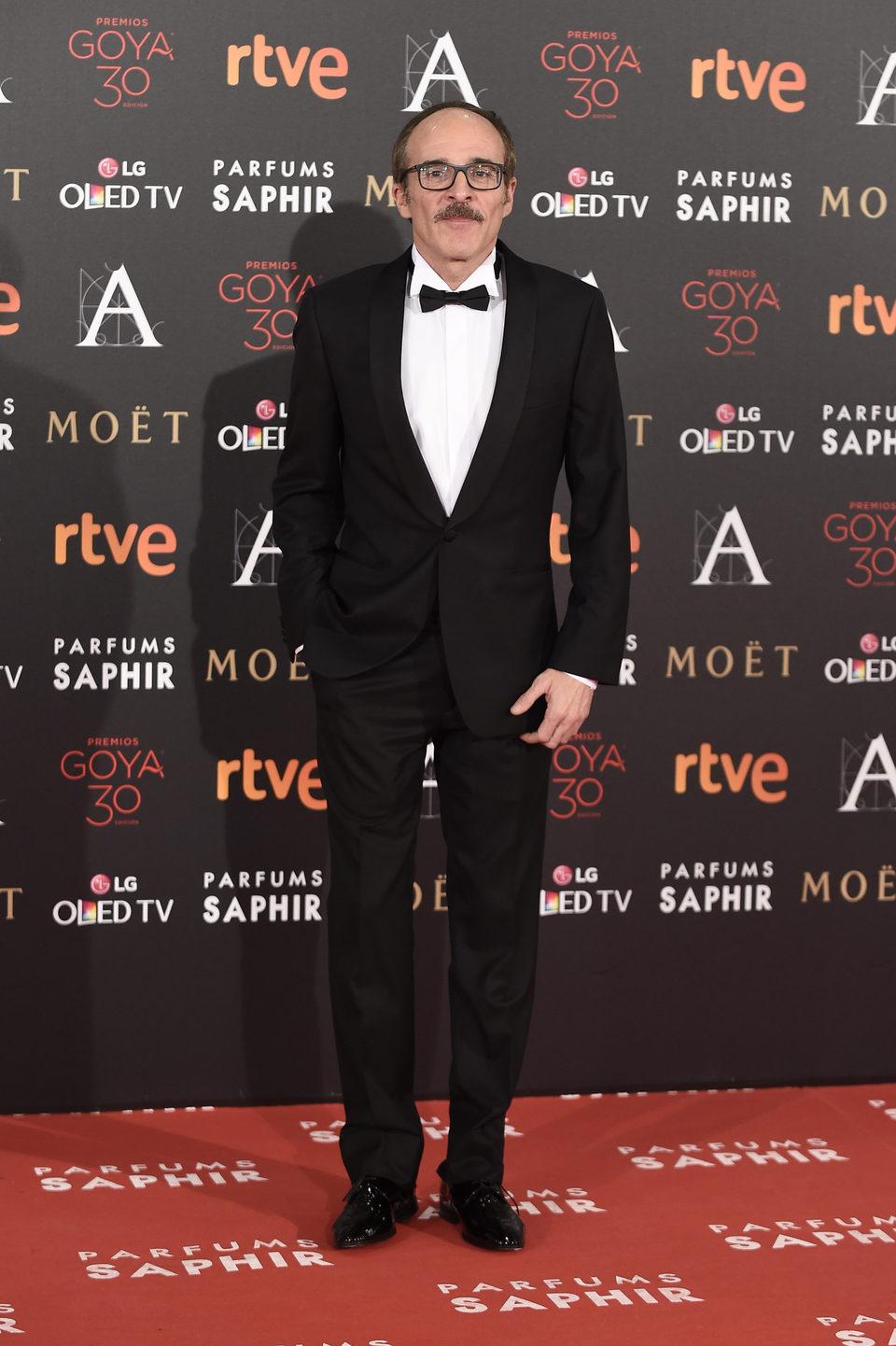 Fernando Guillén Cuervo en la alfombra de los Premios Goya 2016