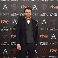 Manuel Burque en la alfombra roja de los Premios Goya 2016