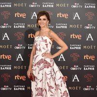 Goya Toledo en la alfombra roja de los Premios Goya 2016