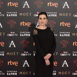 Marián Álvarez en la alfombra roja de los Premios Goya 2016