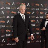 Tim Robbins en la alfombra roja de los Premios Goya 2016