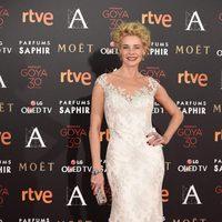 Belén Rueda en la alfombra roja de los Premios Goya 2016