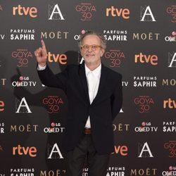 Fernando Colomo en la alfombra roja de los Premios Goya 2016