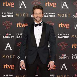 Pablo Alborán en la alfombra roja de los Premios Goya 2016