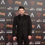 Manolo Solo en la alfombra roja de los Premios Goya 2016