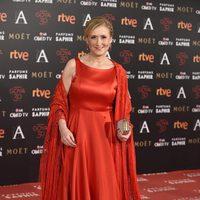 Cristina Cifuentes en la alfombra roja de los Premios Goya 2016
