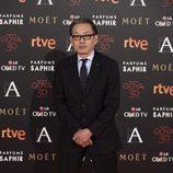 Shigeru Umebayashi en la alfombra roja de los Premios Goya 2016