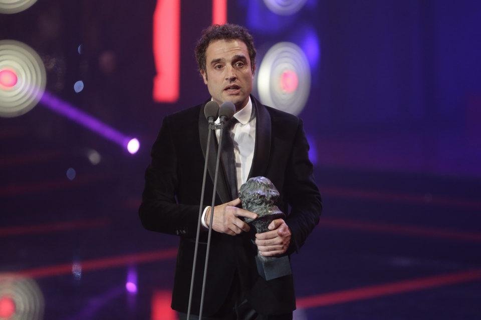 Daniel Guzmán, Mejor Dirección Novel por 'A cambio de nada' en los Premios Goya 2016