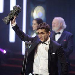 Miguel Herrán, Mejor Actor Revelación 'A cambio de nada' en los Premios Goya 2016