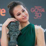Irene Escolar, Mejor Actriz Revelación por 'Un otoño sin Berlín' en los premios Goya 2016