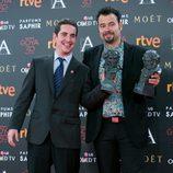 Lluís Castells y Lluis Rivera, Mejores Efectos Especiales por 'Anacleto' en los Premios Goya 2016