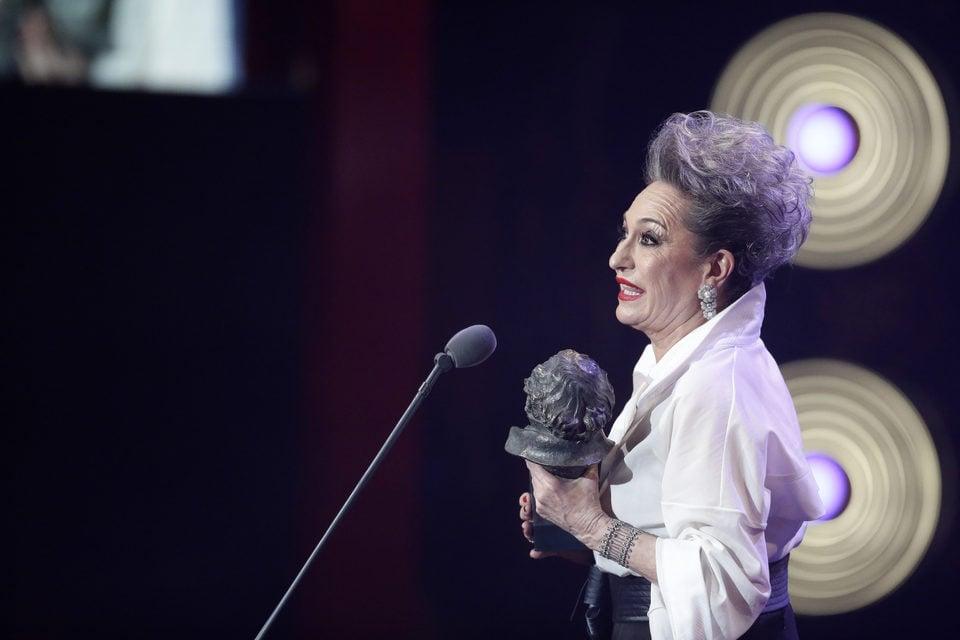 Luisa Gavasa, Mejor Actriz de Reparto por 'La novia' en los Premios Goya 2016