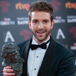 Pablo Alborán, Mejor Canción por 'Palmeras en la nieve' en los Premios Goya 2016