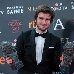 Lucas Vidal, Mejor Canción y Mejor Banda Sonora en los Premios Goya 2016