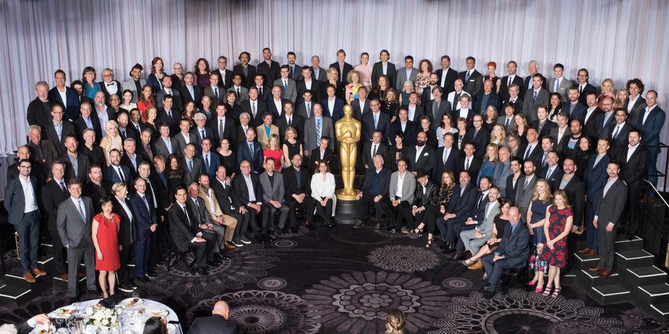 Foto de familia de los nominados a los Oscar 2016