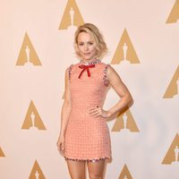 Rachel McAdams en la comida de nominados a los Oscar 2016