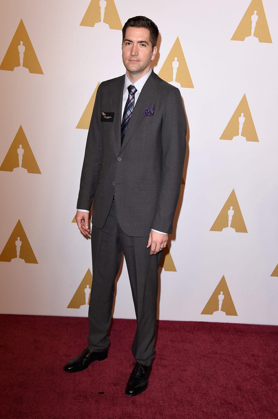 Drew Goddard en la comida de nominados a los Oscar 2016
