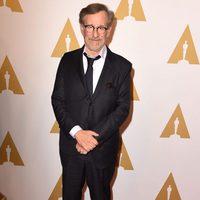 Steven Spielberg en la comida de nominados a los Oscar 2016