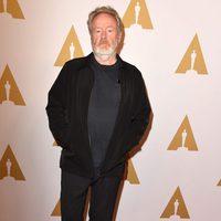 Ridley Scott en la comida de nominados a los Oscar 2016