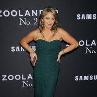 Christine Taylor en la premiere de 'Zoolander 2' en Nueva York