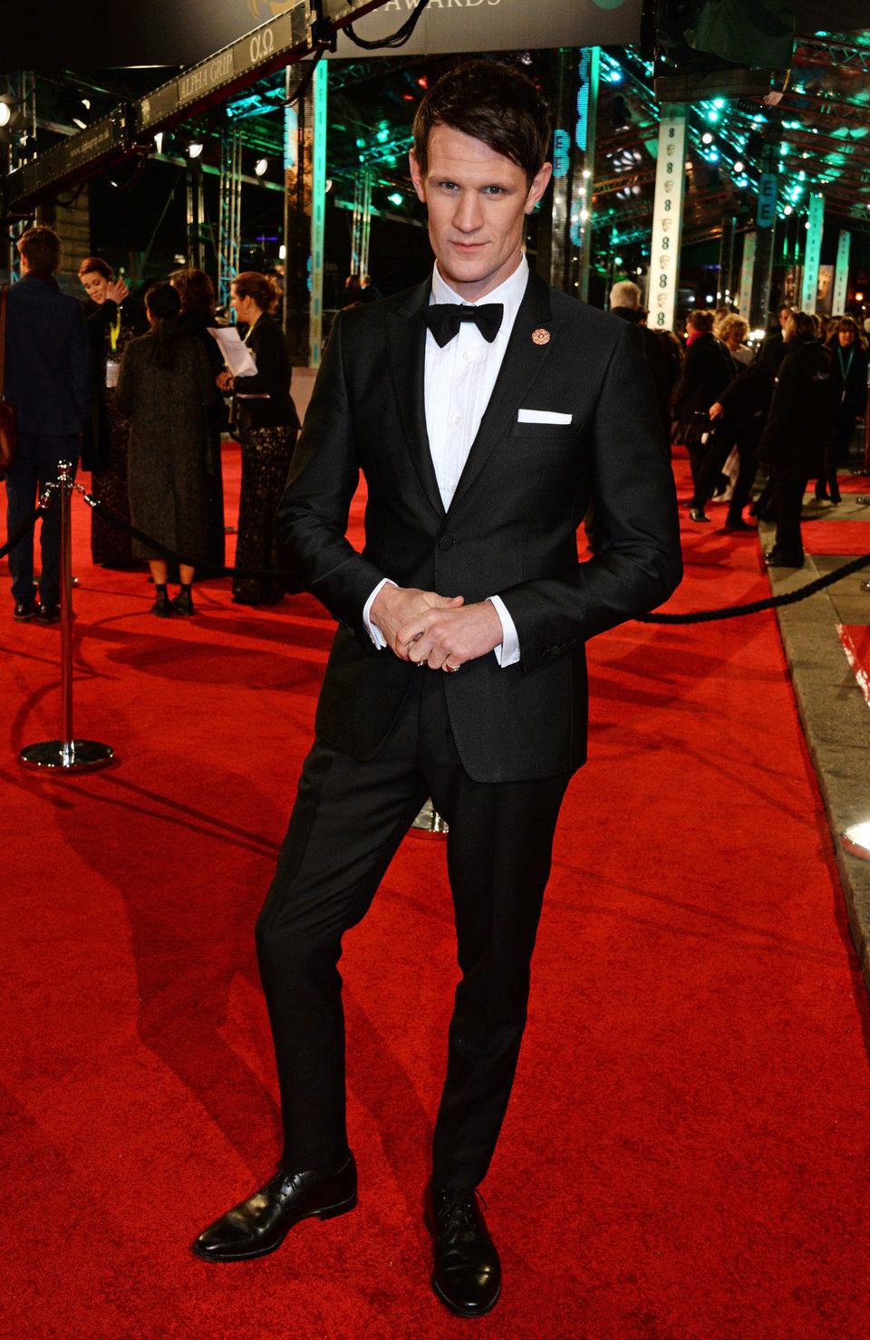 Matt Smith en la alfombra roja de los BAFTA Awards 2016