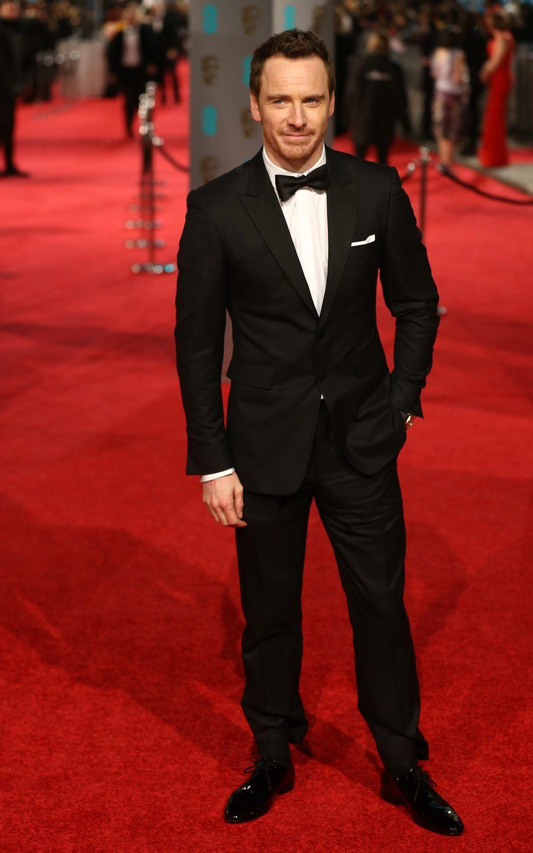 Michael Fassbender en la alfombra roja de los BAFTA Awards 2016