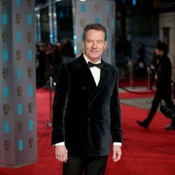 Bryan Cranston en la alfombra roja de los BAFTA Awards 2016